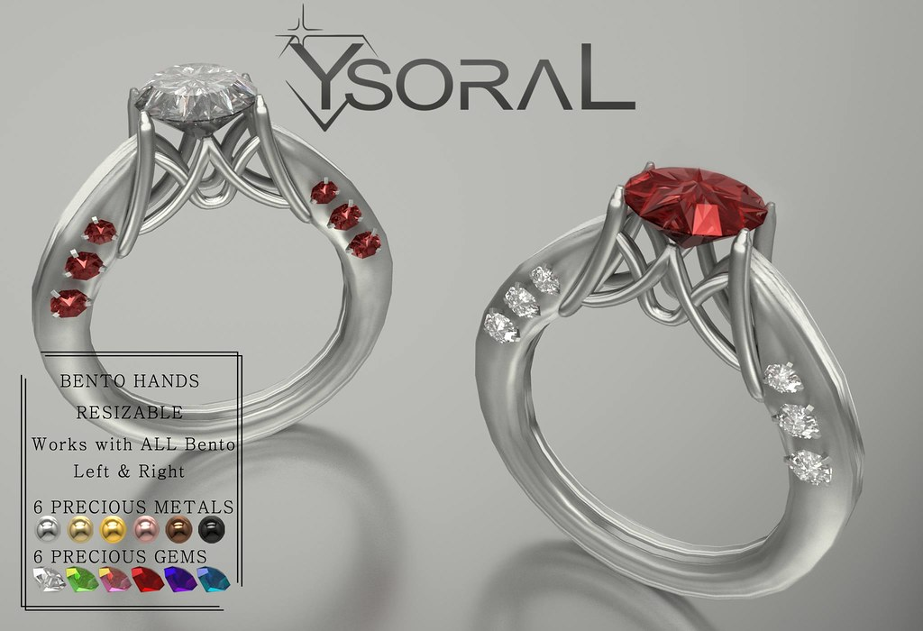~~ Ysoral ~~ .:Luxe Ring Lilacees:.