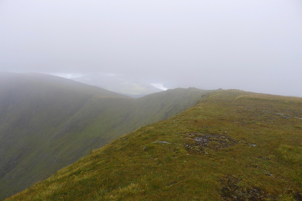 Loch Treig through the mist