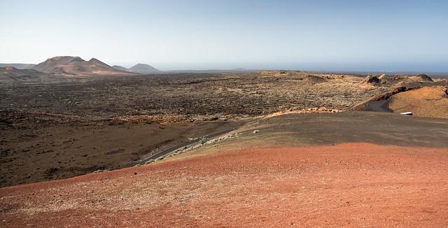 Volcanic Landscape of Timanfaya National Park