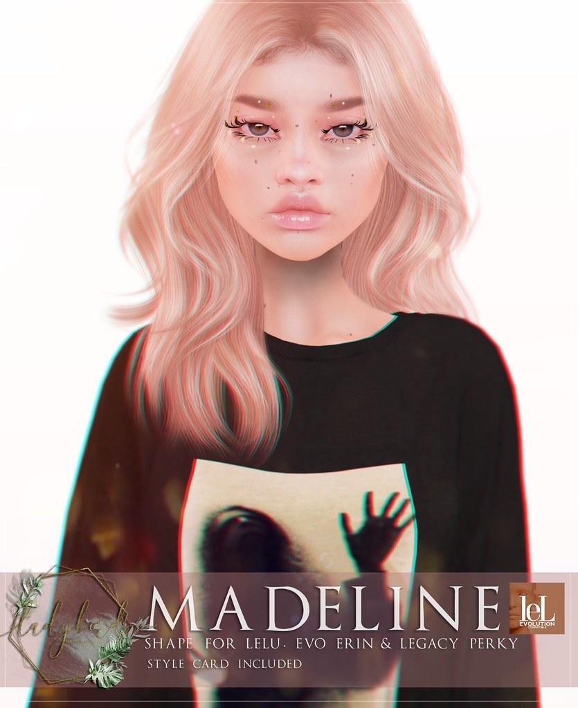 Ladybird. // Madeline Shape for Lelutka Erin <3