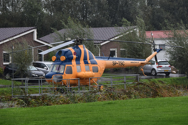SP-TSC Mil Mi-2 @ Vollenhove 08-Oct-2020 by Johan Hetebrij