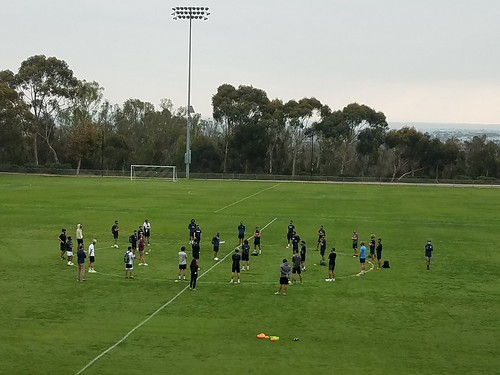 UCSD Soccer Team Practice