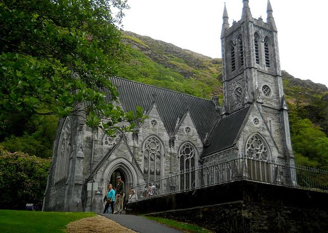 Iglesia de la Abadía de Kylemore.Irlanda