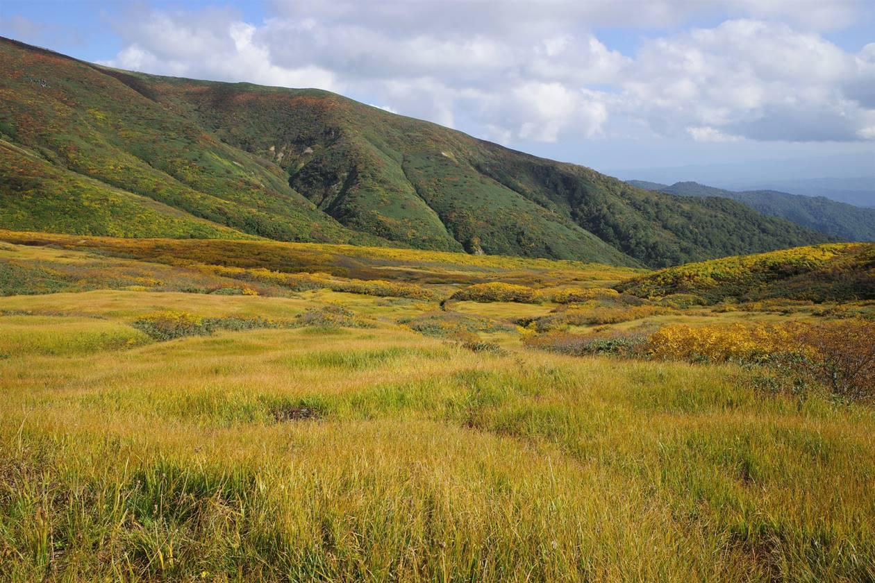 月山の草紅葉
