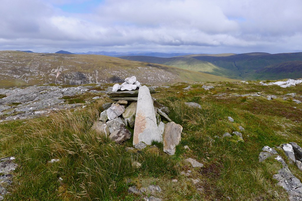 Summit of Carn Bhrunachain