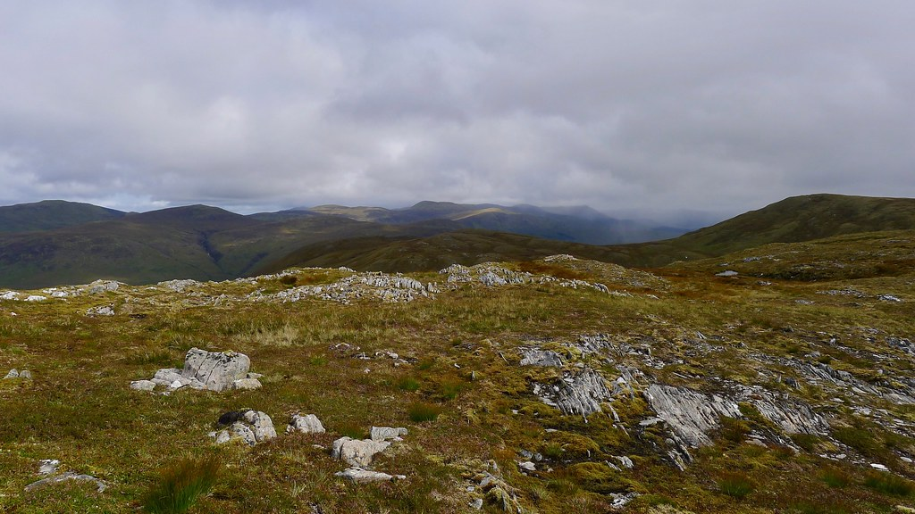 Showers from Carn Bhrunachain