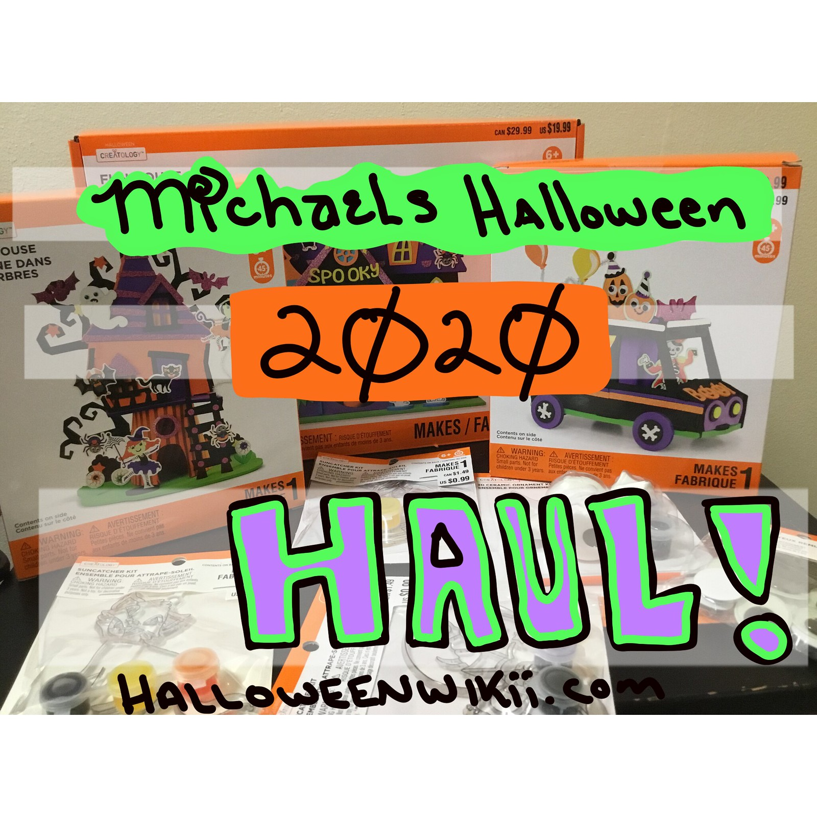Michaels Halloween Kids Crafts Haul 2020