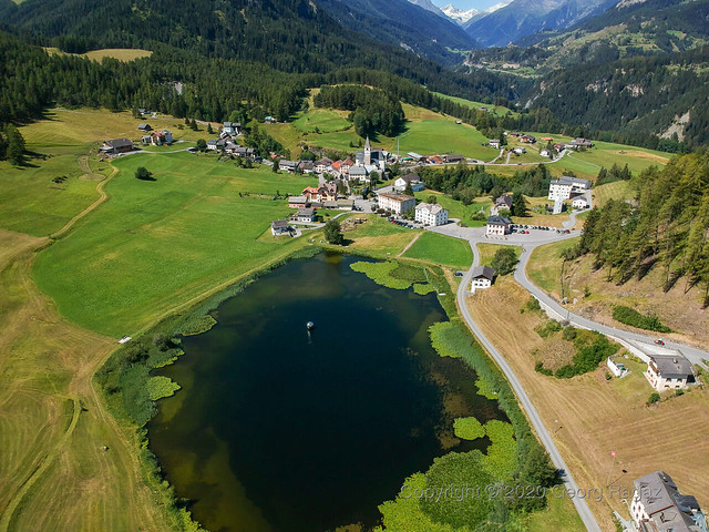 Schweiz, Graubünden, Scuol