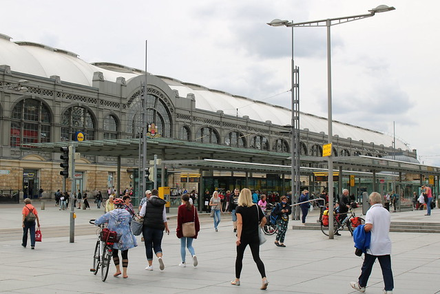 DB: Dresden Hauptbahnhof