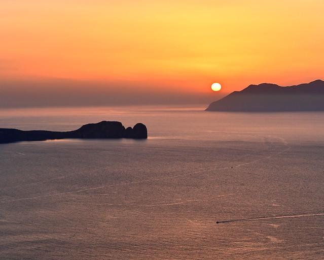 Atardeceres en Grecia