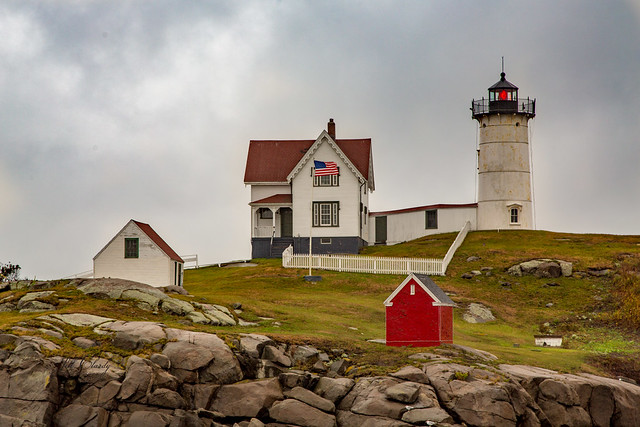 Armchair Traveling - Nubble Lighthouse, York, Maine