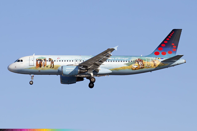 OO-SNE  -  Airbus A320-214  -  Brussels Airlines  -  LHR/EGLL 9/10/20