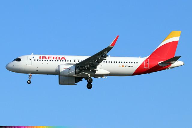 EC-MXU  -  Airbus A320-251N  -  Iberia  -  LHR/EGLL 9/10/20