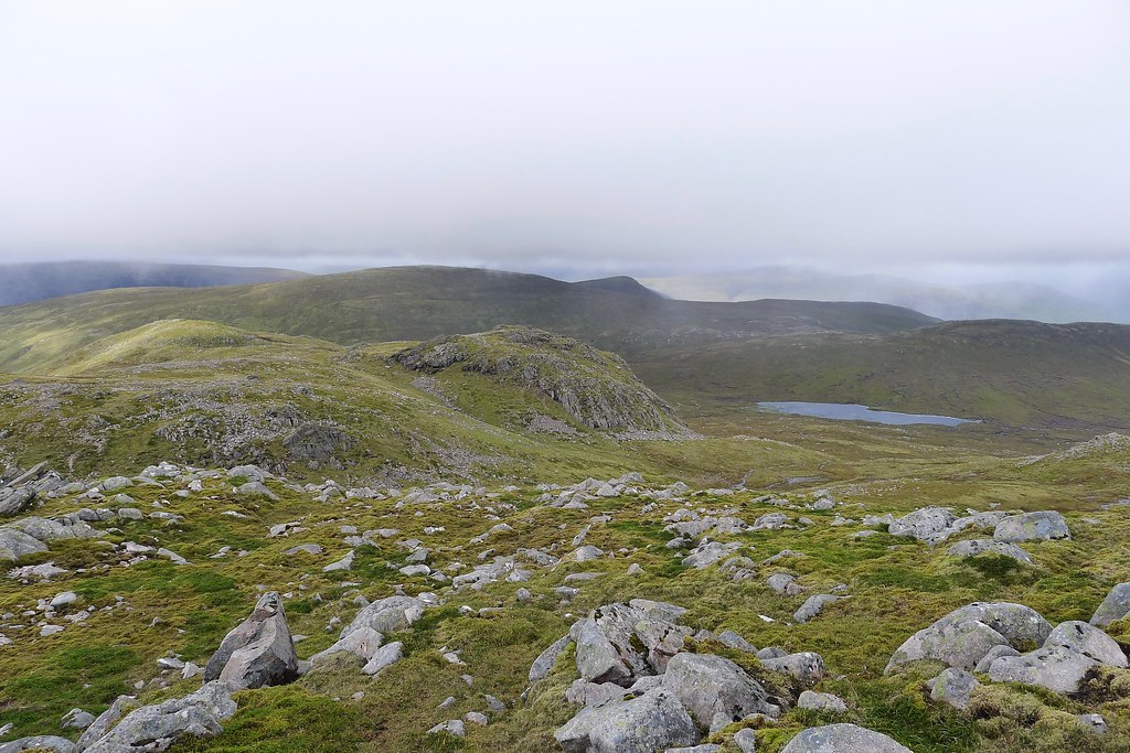 West from Beinn Teallach