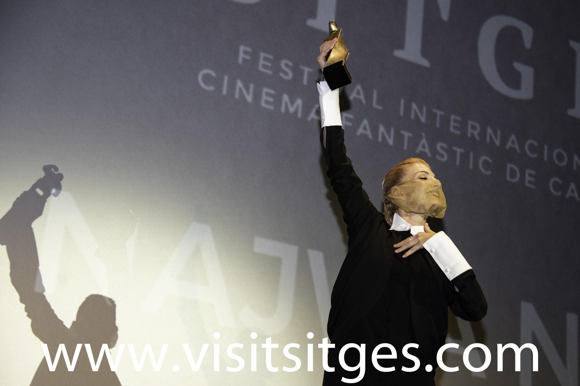 NAJWA NIMRI RECIBE EL GRAN PREMIO HONORÍFICO DEL SITGES FILM FESTIVAL 2020