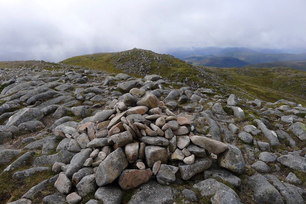 Summit of Beinn Teallach