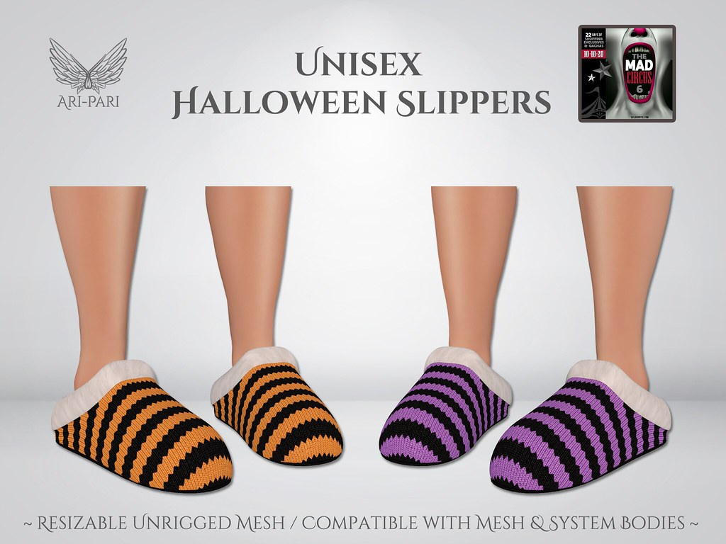 [Ari-Pari] Halloween Slippers