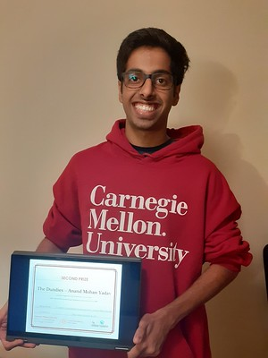 Anand Mohan - 2nd Prize