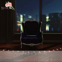 Bloom! - Baroque Chair Purple PG AD