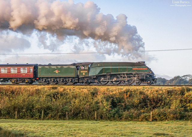 A4 60009 'Union of South Africa' - Burrs Country Park