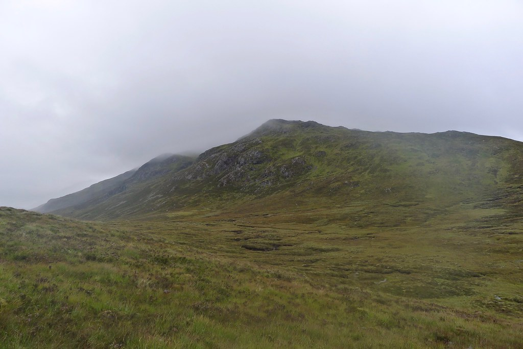 Mist over Beinn Teallach