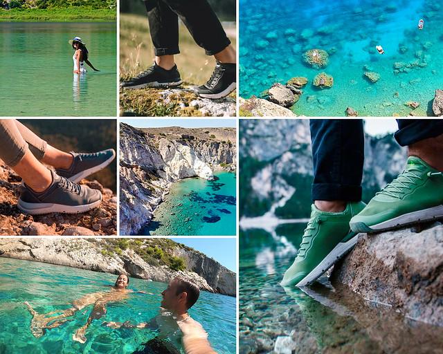 Zapatillas de agua para viajar