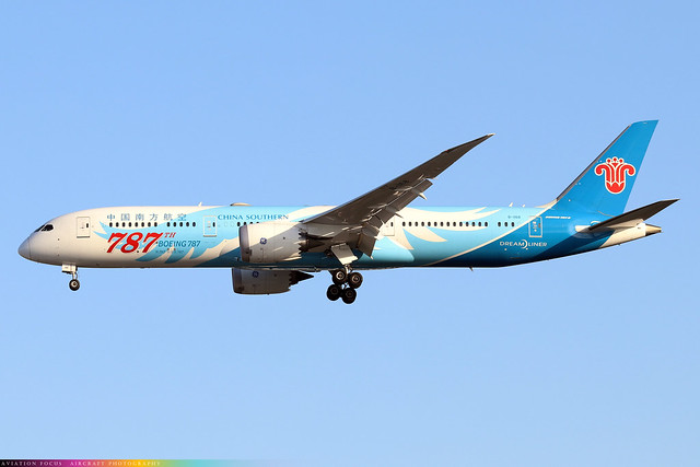 B-1168  -  Boeing 787-9 Dreamliner  -  China Southern  -  LHR/EGLL 9/10/20