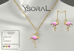~~ Ysoral ~~ .:Set Luxe Necklace & Earring Fanny: