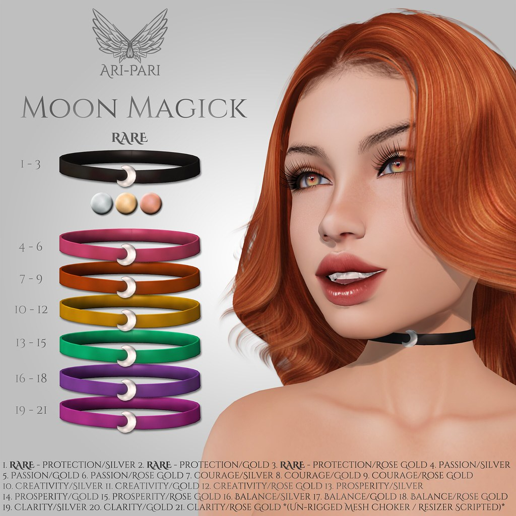 [Ari-Pari] Moon Magick Choker Gacha