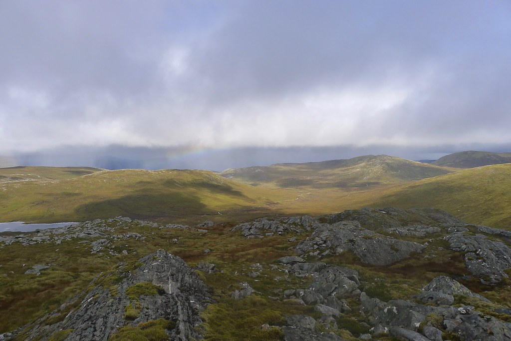 North from Beinn Teallach