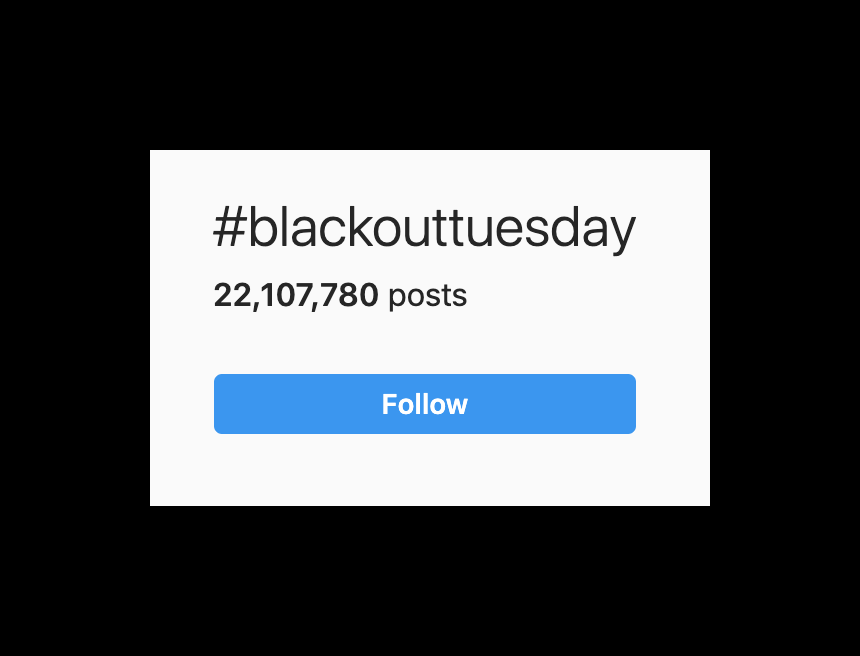 What happened to BLM posts?