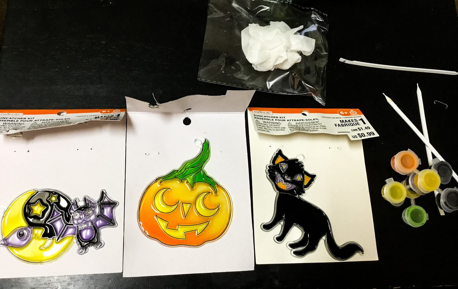 Creatology Halloween Suncatcher Kits Review