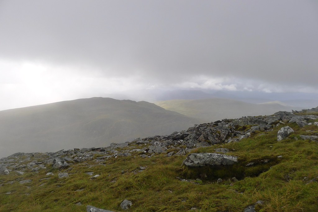 Shower over Beinn Teallach