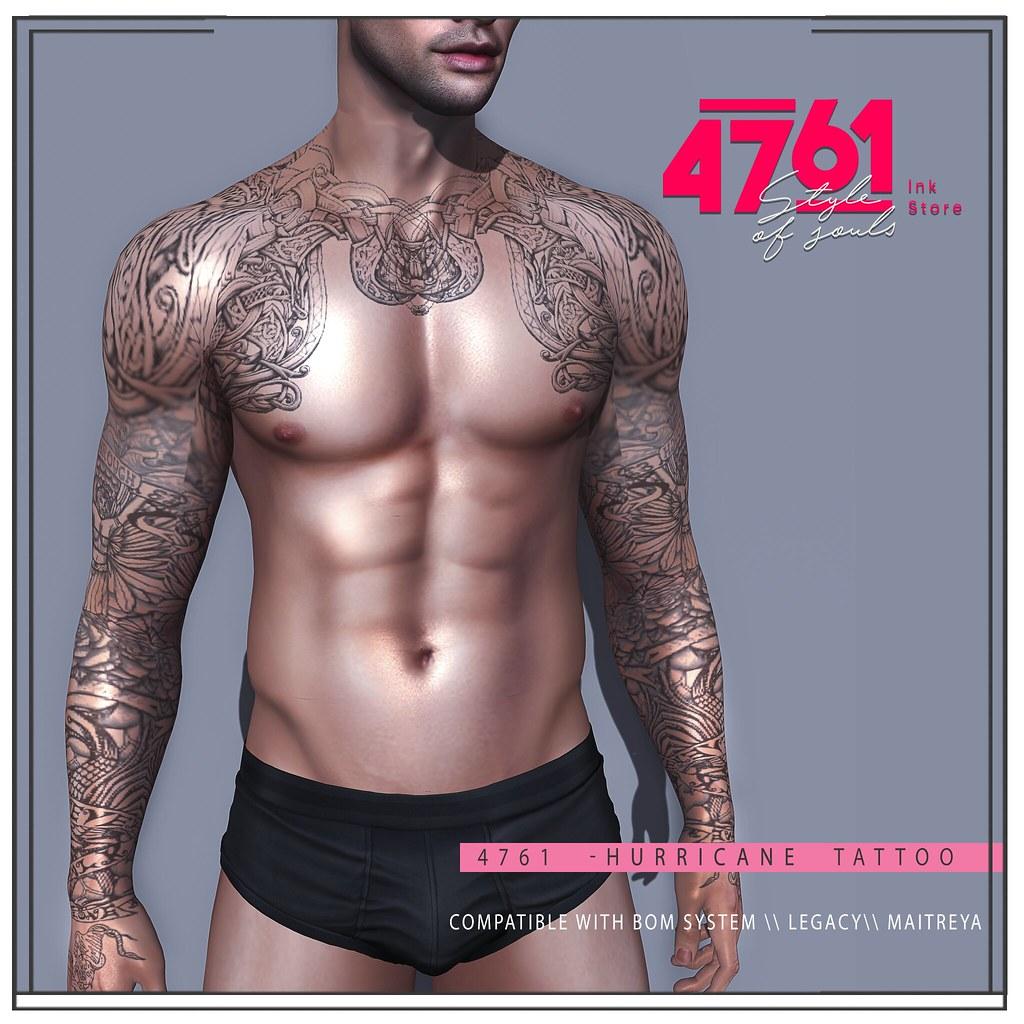 4761 – Hurricane Tattoo