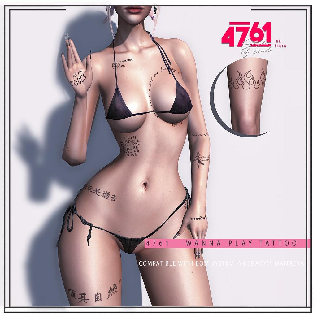 4761 – WannaPlay Tattoo