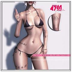 4761 - WannaPlay Tattoo