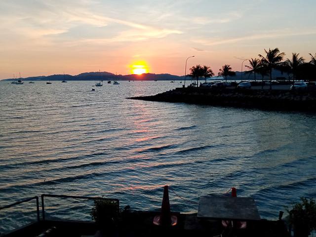 Sunset at Kuah