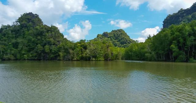Karsts near Taman Nilam