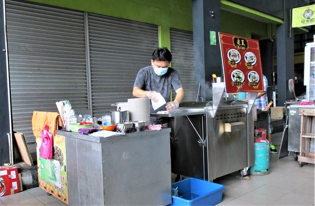 Jiali Cafe chee cheong fun stall