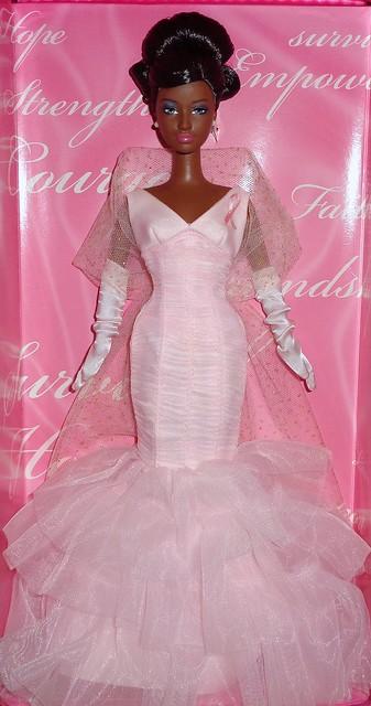 2006 Pink Ribbon Barbie (African American) (2)