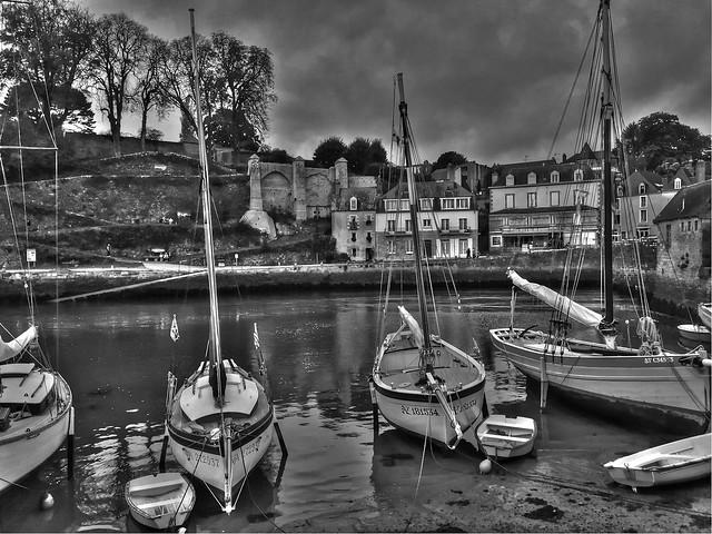 Port de Saint Goustan. Auray 56