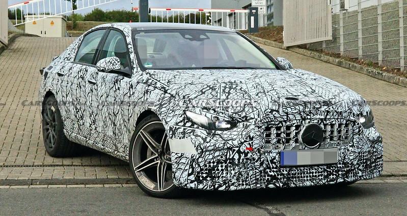 2022-Mercedes-AMG-C63-spy-shots-5