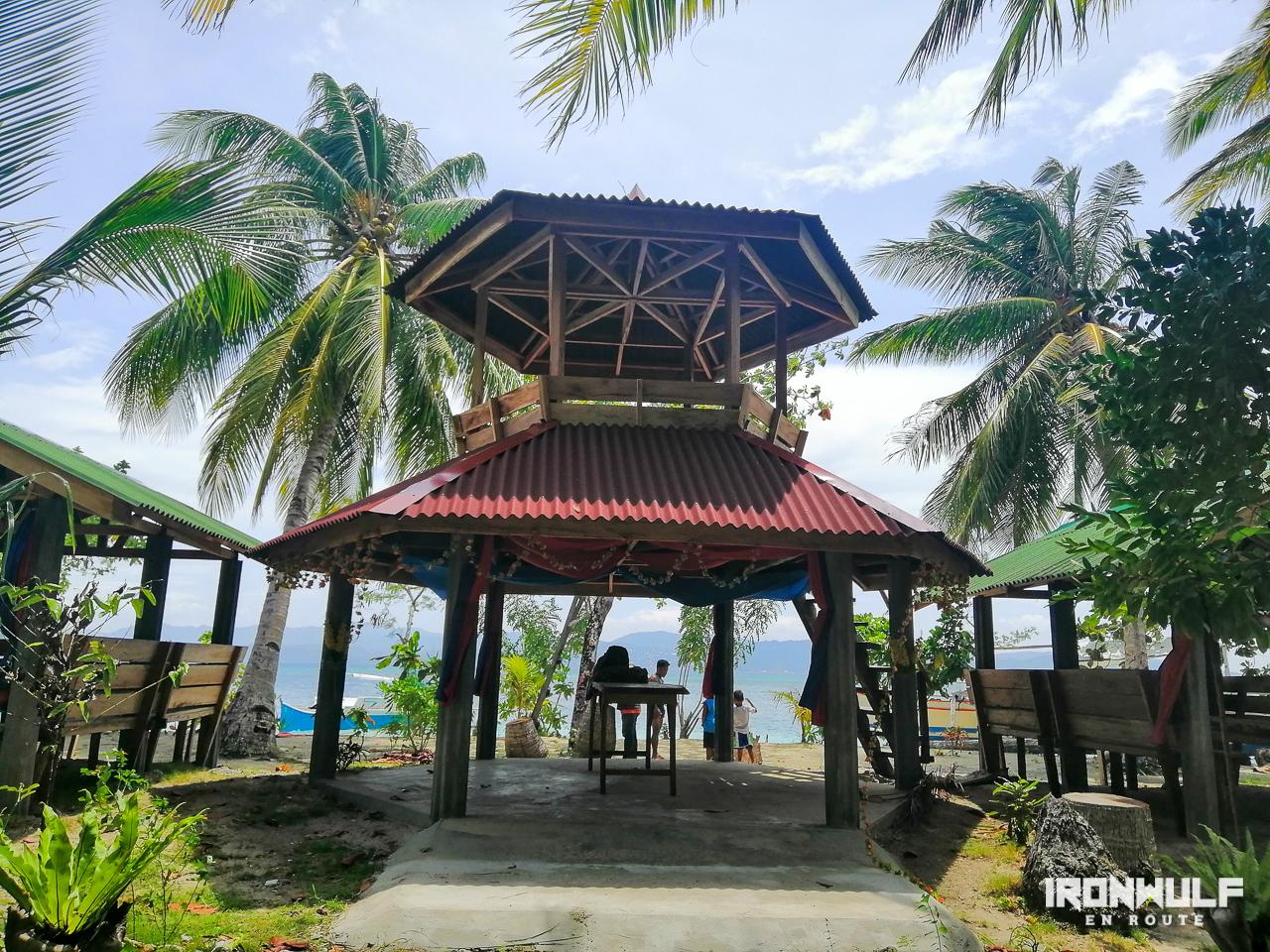Pavillion at Biray-biray island