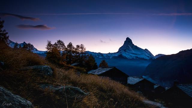 Matterhorn am Abend