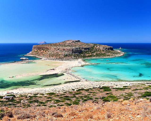Bahia de Balos en Creta