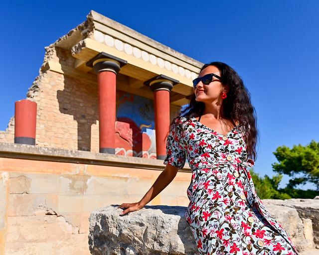 Palacio de Knossos, imprescindible visita en Grecia