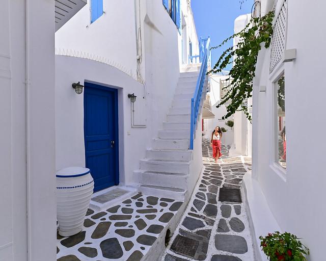 Calles de Mykonos