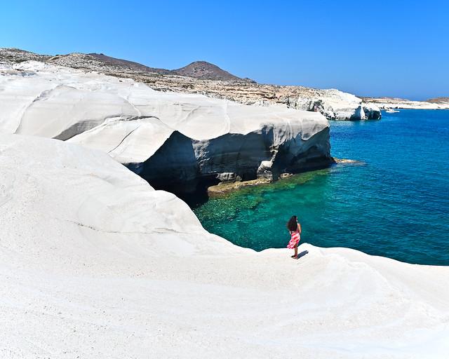 Isla de Milos, en Grecia