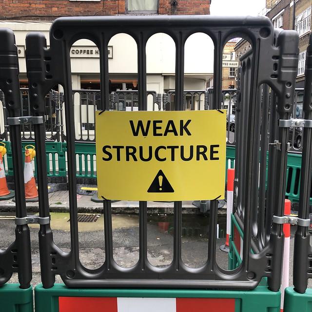 Weak Structure