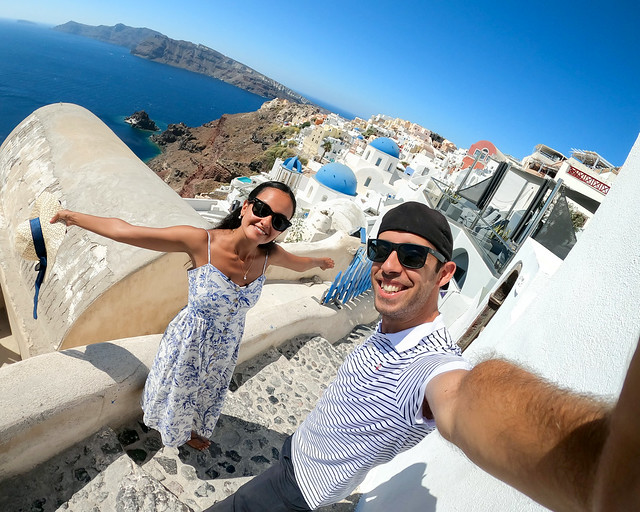 Santorini, uno de los lugares y cosas que ver en Grecia
